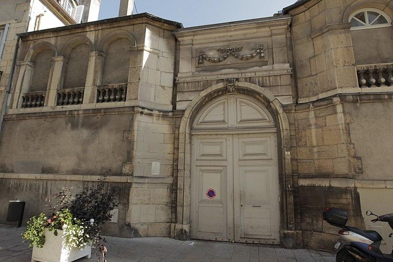 Photo du Monument Historique Hôtel de la Mare situé à Dijon