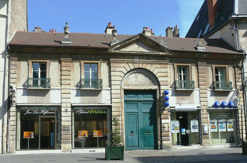 Photo du Monument Historique Hôtel de Migieu situé à Dijon