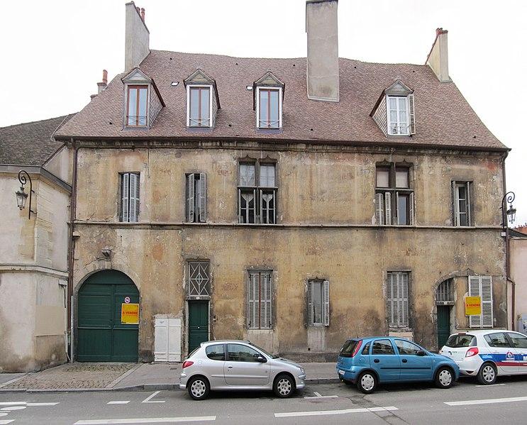 Photo du Monument Historique Hôtel de Noident situé à Dijon