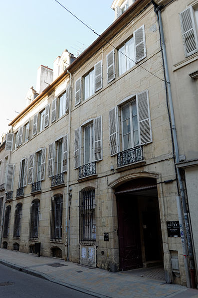 Photo du Monument Historique Hôtel Patarin situé à Dijon