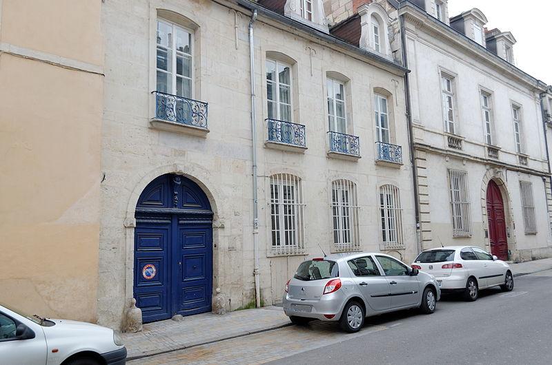 Photo du Monument Historique Hôtel Petit de Ruffey situé à Dijon