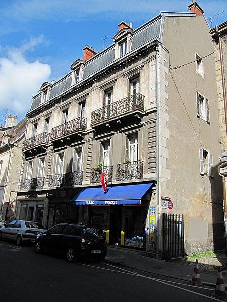 Photo du Monument Historique Hôtel de Pourlans situé à Dijon