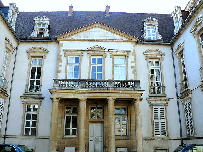Photo du Monument Historique Hôtel du Président Bouhier situé à Dijon