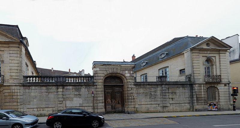 Photo du Monument Historique Hôtel de Ruffey situé à Dijon
