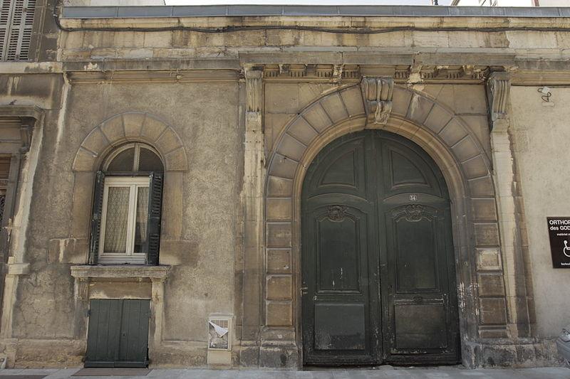 Photo du Monument Historique Hôtel Saint-Père situé à Dijon