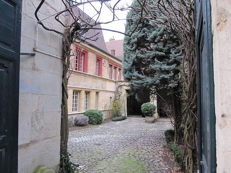 Photo du Monument Historique Hôtel de Samerey situé à Dijon
