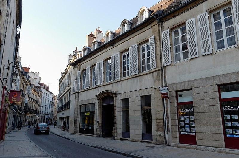 Photo du Monument Historique Hôtel de Thianges situé à Dijon