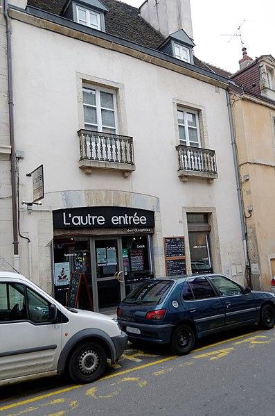 Photo du Monument Historique Hôtel Thomas Berbisey situé à Dijon