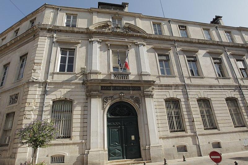 Photo du Monument Historique Ancien Hôtel de l'Académie de Dijon ou hôtel Despringles situé à Dijon