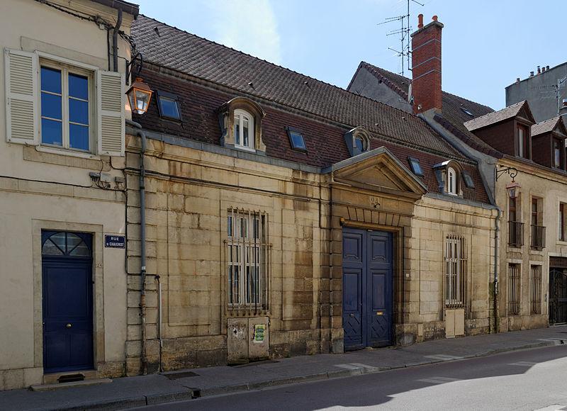 Photo du Monument Historique Hôtel situé à Dijon