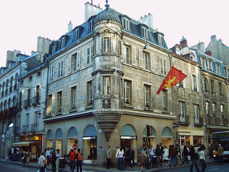 Photo du Monument Historique Immeuble, ancien hôtel Millière situé à Dijon