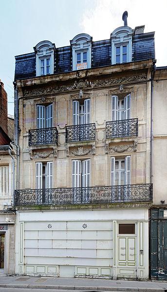 Photo du Monument Historique Immeuble situé à Dijon
