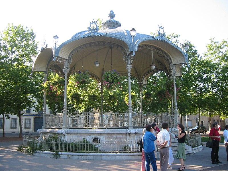 Photo du Monument Historique Kiosque à musique situé à Dijon