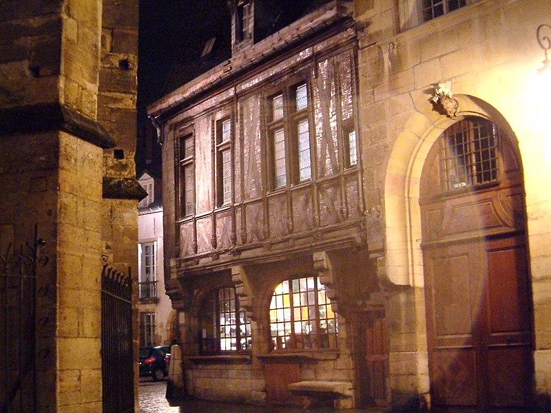 Photo du Monument Historique Maison dite Maison Millière situé à Dijon