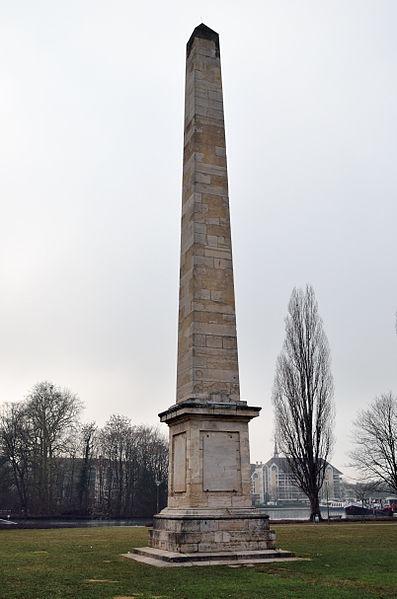 Photo du Monument Historique Obélisque situé à Dijon