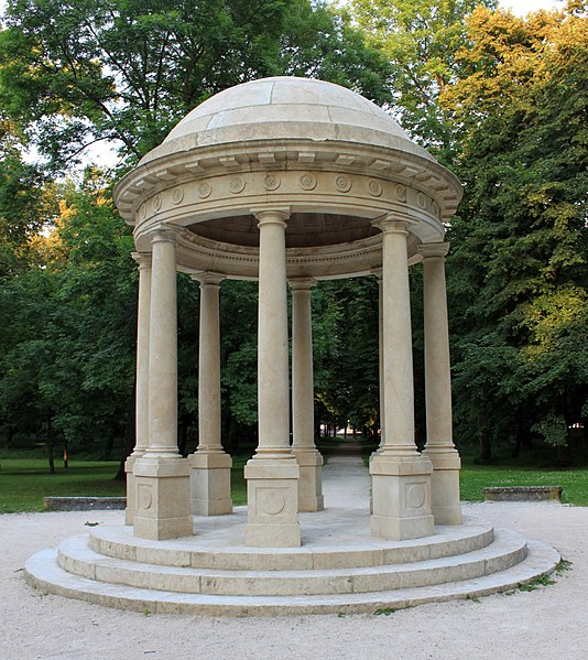 Photo du Monument Historique Parc de Dijon et domaine contigü de la Colombière situé à Dijon