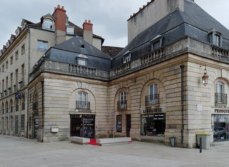 Photo du Monument Historique Pavillons d'angle situé à Dijon