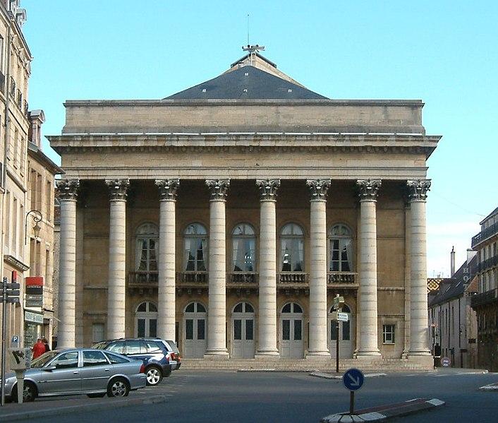 Photo du Monument Historique Théâtre situé à Dijon