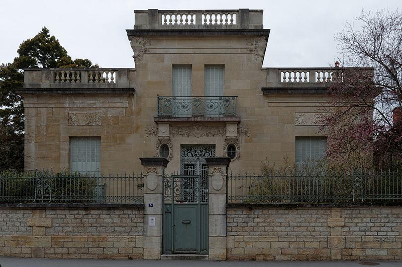 Photo du Monument Historique Villa Messner situé à Dijon
