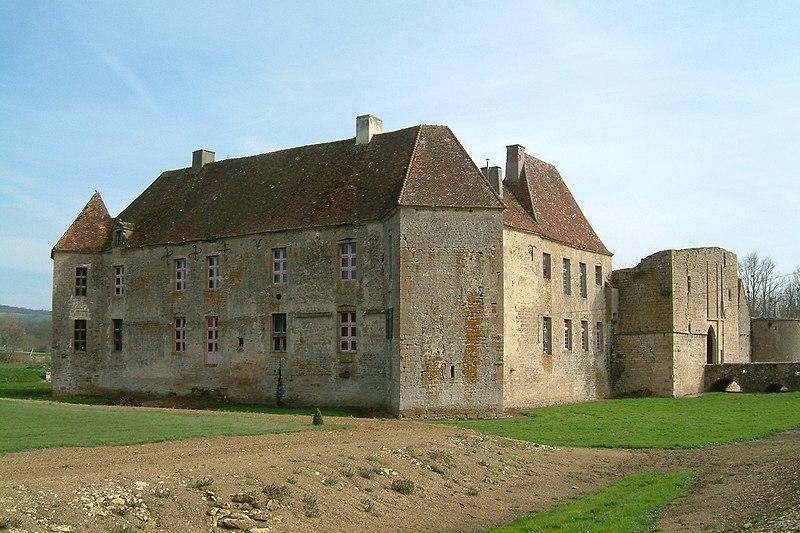 Photo du Monument Historique Château d'Eguilly situé à Eguilly