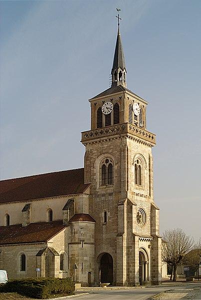 Photo du Monument Historique Eglise situé à Esbarres