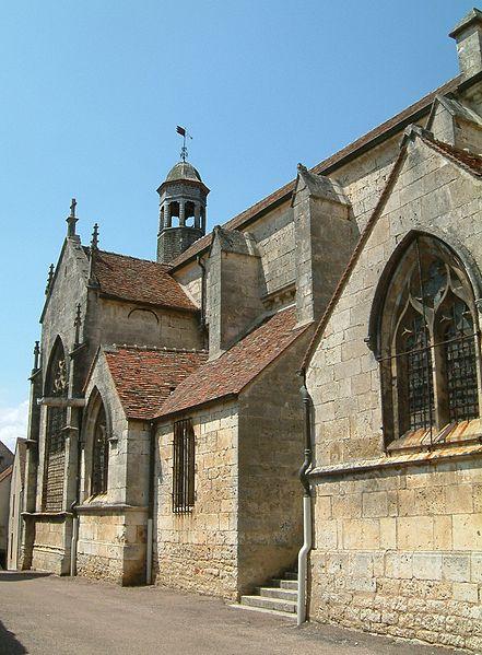 Photo du Monument Historique Eglise Saint-Genest situé à Flavigny-sur-Ozerain