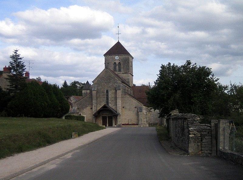 Photo du Monument Historique Eglise Saint-Jean-Baptiste situé à Fleurey-sur-Ouche