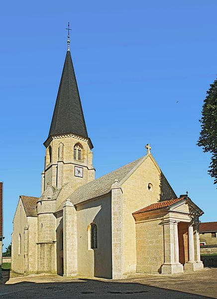 Photo du Monument Historique Eglise Saint-Germain d'Auxerre situé à Fontaines-en-Duesmois
