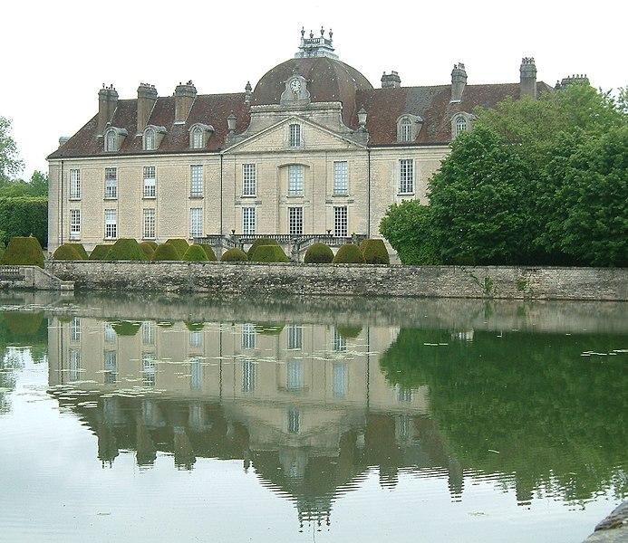 Photo du Monument Historique Château situé à Fontaine-Française