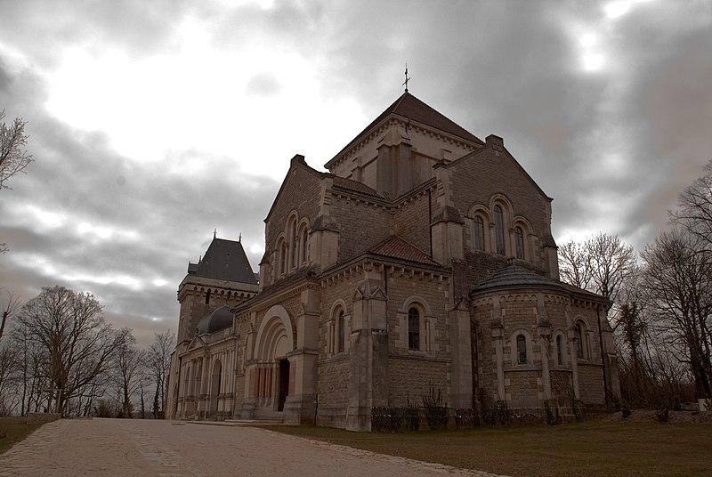 Photo du Monument Historique Couvent et Basilique Saint-Bernard situé à Fontaine-lès-Dijon