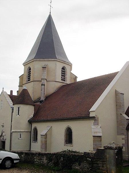 Photo du Monument Historique Eglise Saint-Bernard situé à Fontaine-lès-Dijon