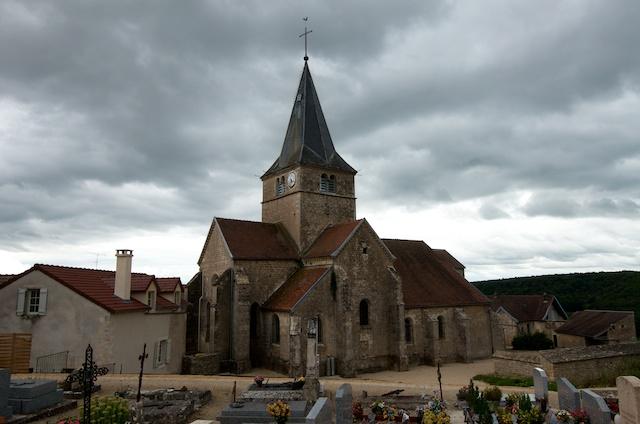 Photo du Monument Historique Eglise situé à Frôlois
