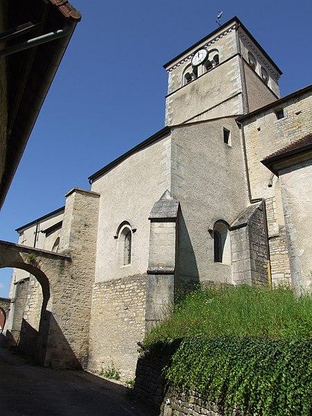 Photo du Monument Historique Eglise situé à Gemeaux