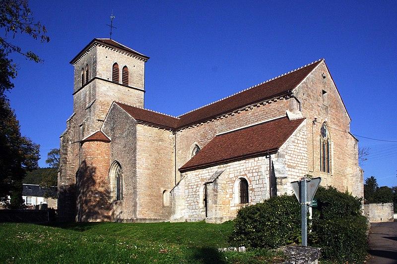 Photo du Monument Historique Eglise situé à Gevrey-Chambertin