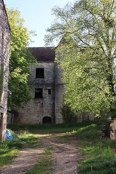 Photo du Monument Historique Château dit Tour Marmont situé à Gissey-sous-Flavigny