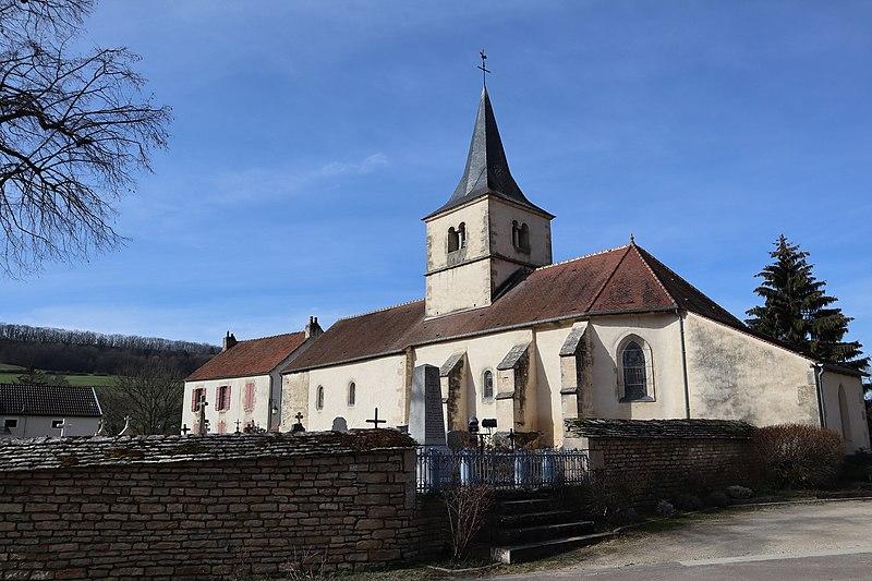 Photo du Monument Historique Eglise Saint-Martin situé à Gissey-sous-Flavigny