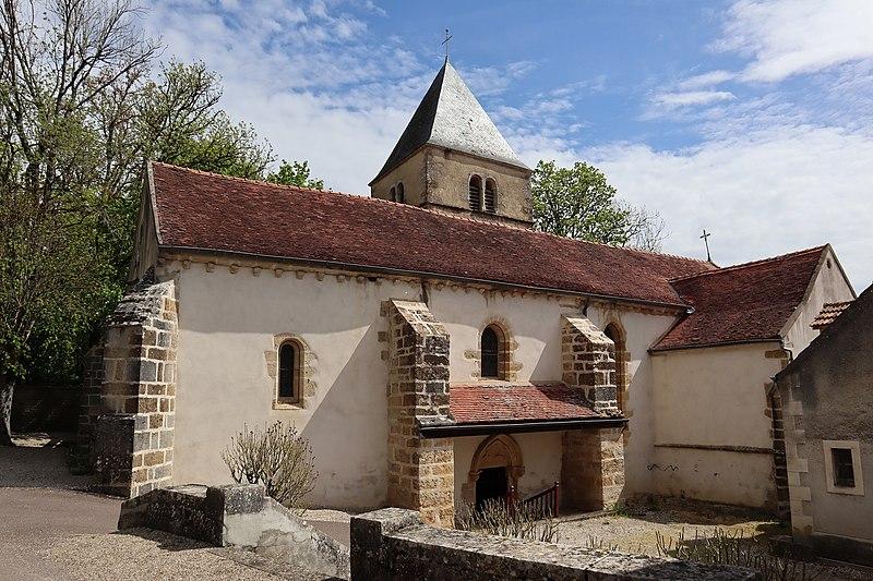 Photo du Monument Historique Eglise Saint-Jean l'Evangéliste situé à Grignon