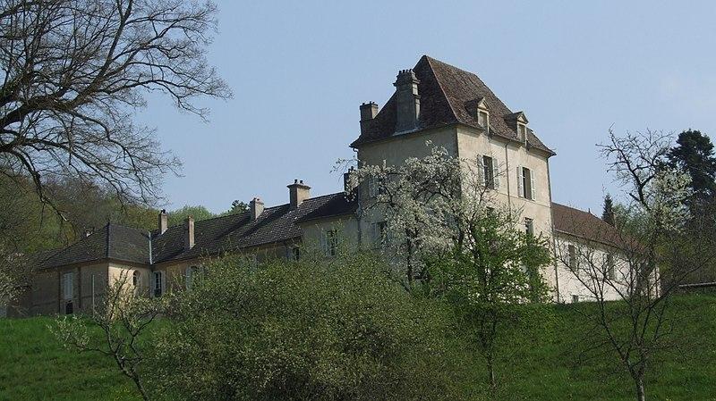 Photo du Monument Historique Château situé à Lantenay