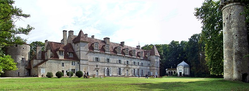 Photo du Monument Historique Château et sa chapelle situé à Lux