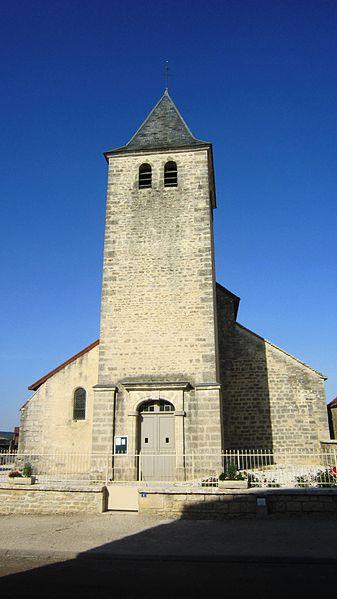 Photo du Monument Historique Eglise situé à Marcenay