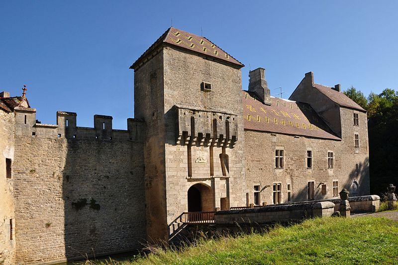 Photo du Monument Historique Château situé à Marigny-le-Cahouët