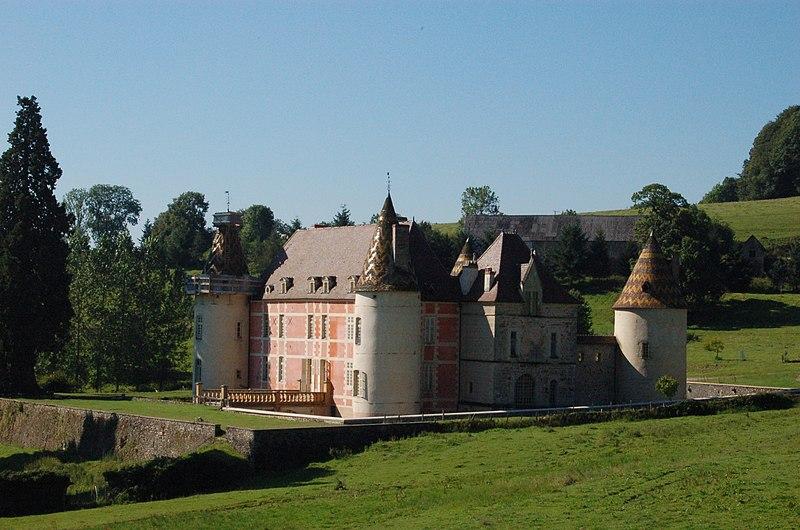 Photo du Monument Historique Château situé à Ménessaire