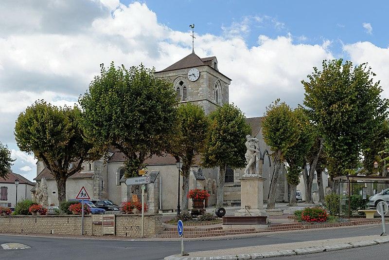 Photo du Monument Historique Eglise Saint-Vallier de Messigny situé à Messigny-et-Vantoux