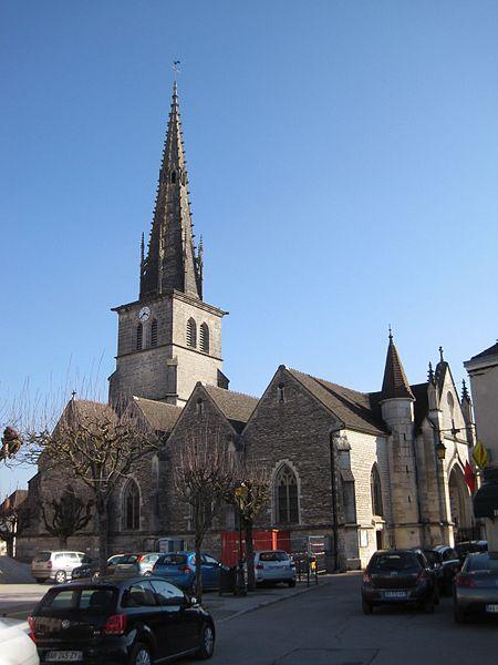 Photo du Monument Historique Eglise situé à Meursault