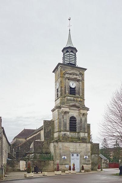 Photo du Monument Historique Eglise paroissiale Sainte-Croix situé à Molesme