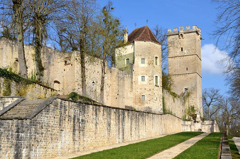 Photo du Monument Historique Château de Buffon situé à Montbard