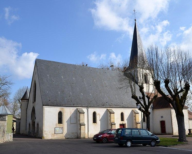 Photo du Monument Historique Eglise situé à Montbard