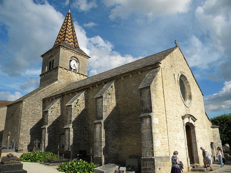 Photo du Monument Historique Eglise Saint-Germain d'Auxerre situé à Monthelie