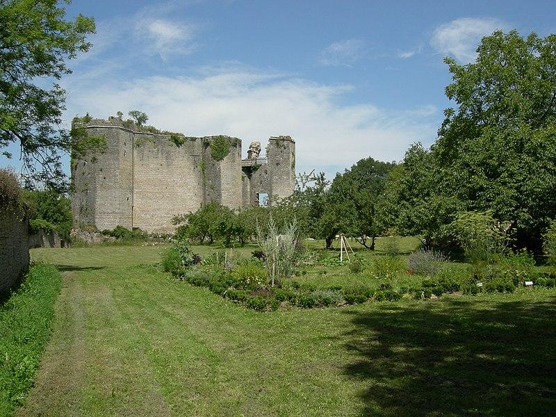 Photo du Monument Historique Château de Montfort (ruines) situé à Montigny-Montfort