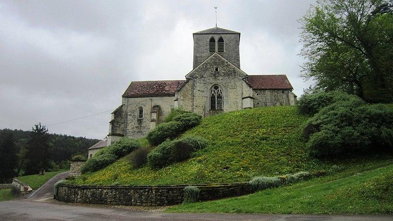 Photo du Monument Historique Eglise situé à Noiron-sur-Seine